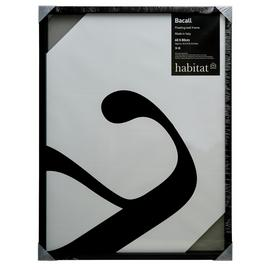 Habitat Bacall 60 X 80cm/24 X 32inch Black Picture Frame