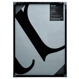 Habitat Bacall 70 X 100cm/28 X 39inch Black Picture Frame