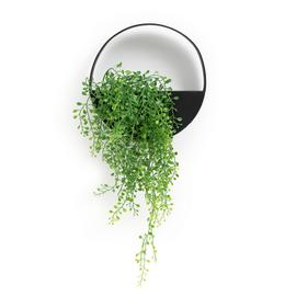 Habitat Industrial Faux Floral Wall Hanging Plant