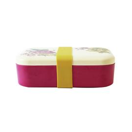 Joules Floral Eco Bamboo Lunch Box