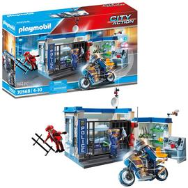 Playmobil 70568 City Action Police Prison Escape Playset