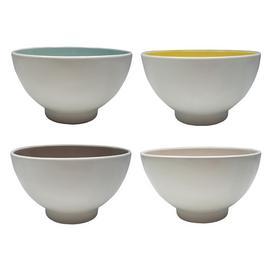 Habitat Rex Set of 4 Cereal Bowls