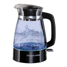 Russell Hobbs 26080 Classic Glass Kettle - Black