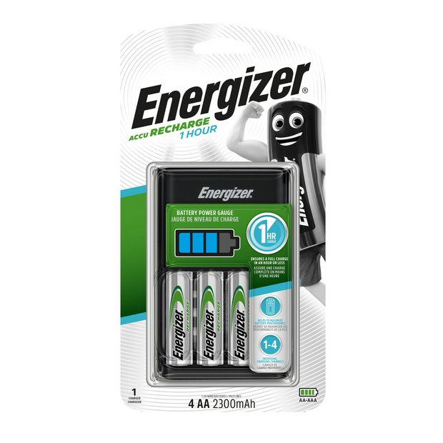 Buy Energizer Battery Charger with 4 x AA 2300 mAh