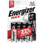 more details on Energizer Max AA Batteries - Pack of 4.