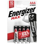 more details on Energizer Max AAA Batteries - Pack of 4.