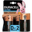 more details on Duracell Ultra Power Alkaline D Batteries - Pack of 2.