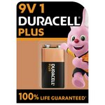 more details on Duracell Plus Power Alkaline 9V Battery - Pack of 1.