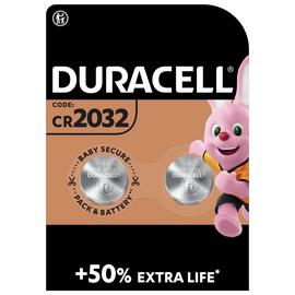 Duracell Specialty 2032 Lithium Coin Battery 3V - Pack of 2
