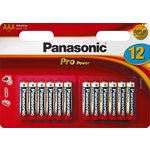 more details on Panasonic Pro Power AAA Batteries - 12 Pack.
