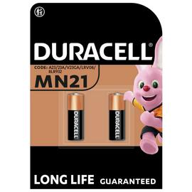 Duracell Specialty Alkaline MN21 Battery 12V - Pack of 2