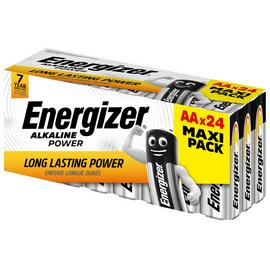 Energizer Alkaline Power AA Batteries - Pack of 24