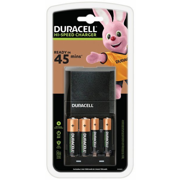 buy duracell 15 min aa aaa battery charger 2xaa 2xaaa. Black Bedroom Furniture Sets. Home Design Ideas