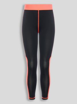 Active Black Sports Leggings