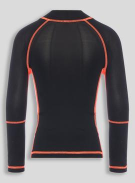 Active Black Sports Top