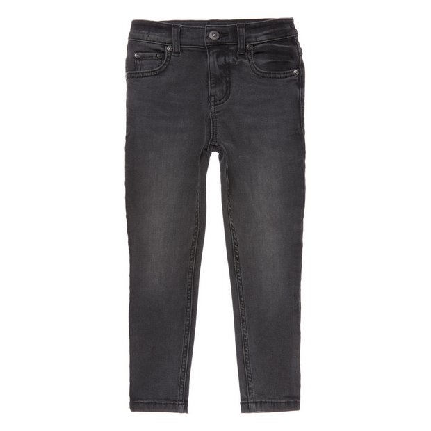 Black Washed Super Skinny Denim Jean - 3 years