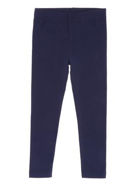 Navy Plain Leggings