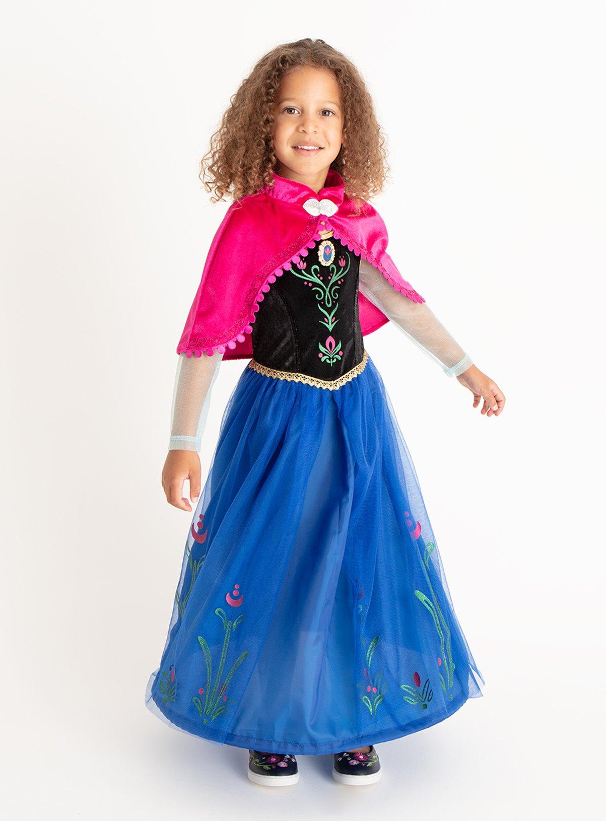 Multicoloured Disney Frozen Anna Fancy Dress Outfit (1-10 ye  sc 1 st  Argos & Childrenu0027s fancy dress costumes | Fancy dress for kids | Argos