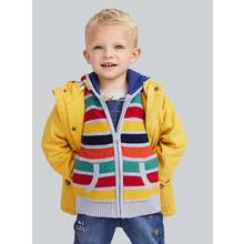 Yellow Canvas Jacket - 9-12 months