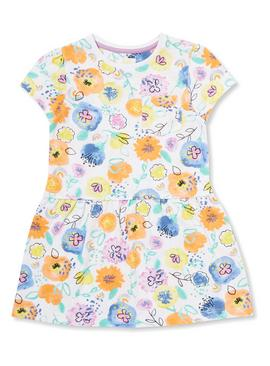 Multicoloured Sunshine and Smiles Jersey Dress - 9-12 months