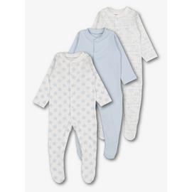Blue Sleepsuits 3 Pack