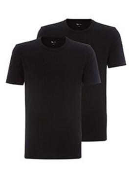 Black Crew Neck T-Shirts 2 Pack