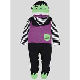 Halloween Multicoloured Monster Sleepsuit