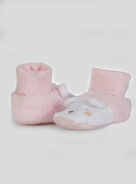Pale Pink Animal Booties