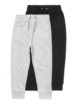 Grey & Black Joggers 2 Pack