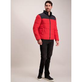 Red & Black Padded Coat