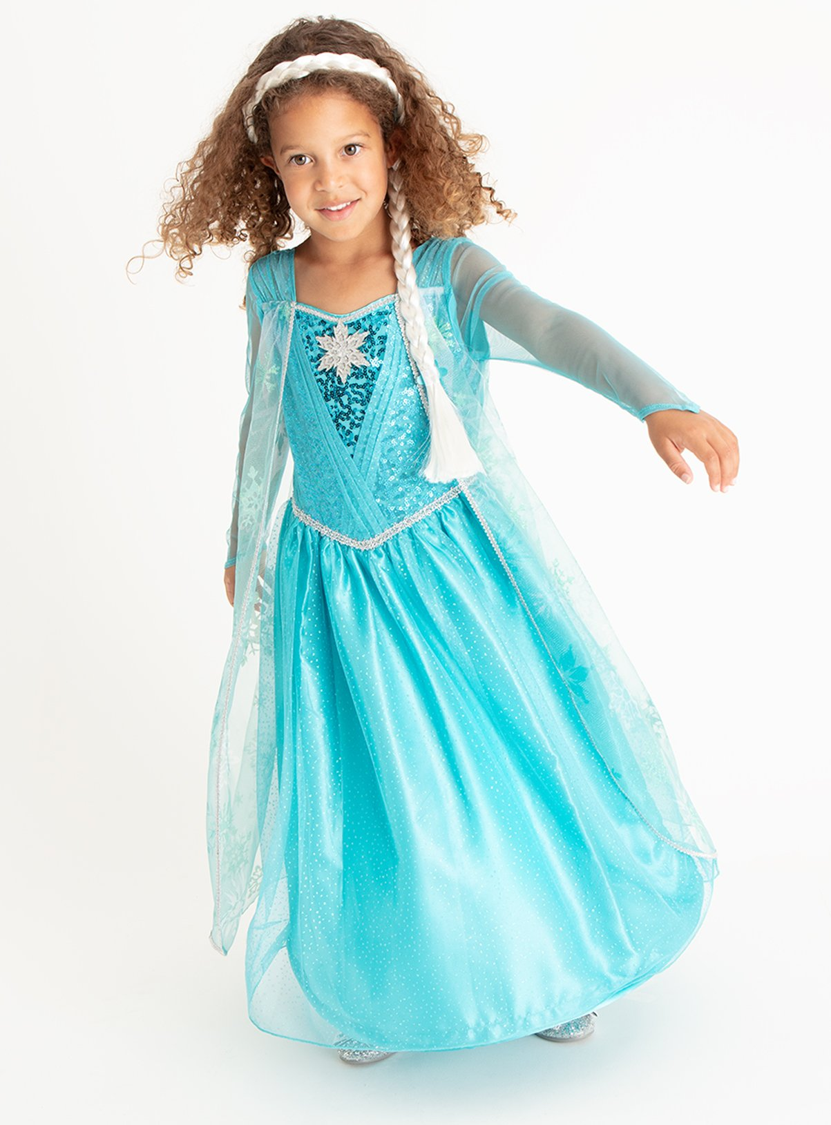 Blue Disney Frozen Elsa Costume (1-10 years)  sc 1 st  Argos & Results for elsa frozen dress
