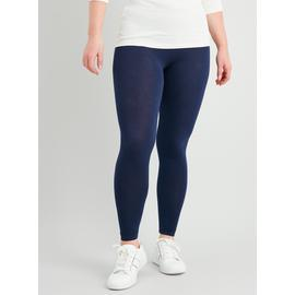 2 Pack Navy Black Leggings With Stretch