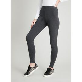Online Exclusive Length Grey Luxurious Soft Touch Leggings