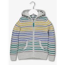 Multicoloured Zip Through Stripe Hoodie (1-6 years)