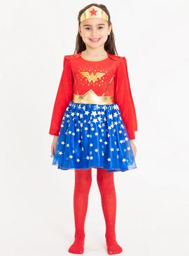 Online Exclusive DC Wonder Woman Costume - 2-3 years