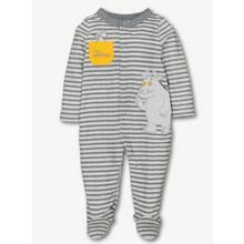 Online Exclusive The Gruffalo Grey Stripe Sleepsuit