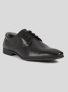 Sole Comfort Black Leather Lace Up Shoes