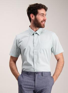 Online Exclusive Mint Green Tailored Fit Shirt 2 Pack