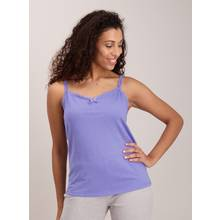 Lilac & White Lace Cami Tops 2 Pack