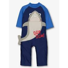 Navy Shark Sunsafe Swimsuit (9 months - 6 years)