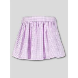 Online Exclusive Blue Gingham Skirt