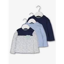 Multicoloured Long-Sleeved Tops 3 Pack (0-24 months)