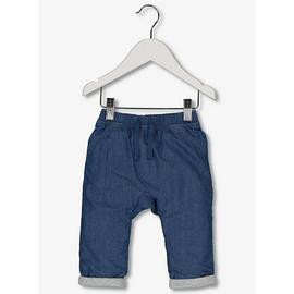 Blue Denim Chambray Trousers (0-24 Months)