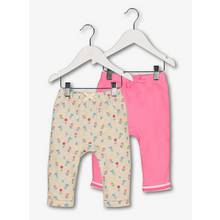 Multicoloured Joggers 2 Pack (0-24 months)