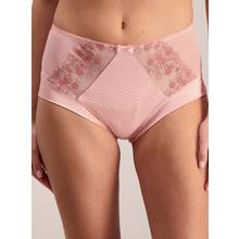 Pink Embroidered Midi Knickers