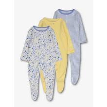 Multicoloured Floral Sleepsuits 3 Pack (0-24 months)