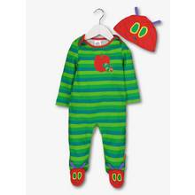The Very Hungry Caterpillar Sleepsuit & Hat Set (0-24 Months