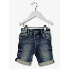 Blue Denim Turn-Up Shorts (1-6 Years)