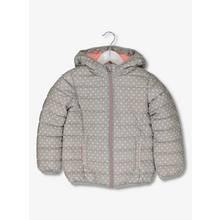 Grey Spotty Lightweight Puffer Jacket (3-14 years)