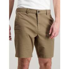 Online Exclusive Mole Brown Chino Shorts with Stretch